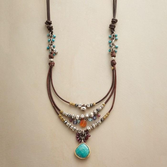 Les bijoux artisanaux sous un regard diff rent 48 photos - Idee de collier a faire soi meme ...