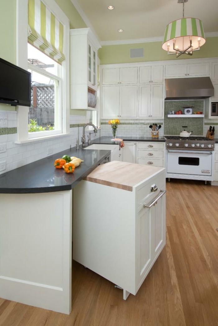 comment-aménager-une-petite-cuisine-gain-de-place-espace-cuisine-ouverte-bar-ikea-petit-espace-deco-petite-cuisine