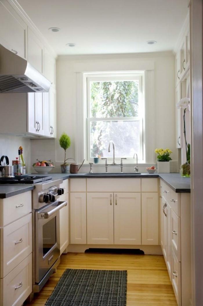 comment-aménager-une-petite-cuisine-gain-de-place-u-forme-modele-cuisine-ouverte-petite-cuisine-pas-cher-petite-cuisine-design