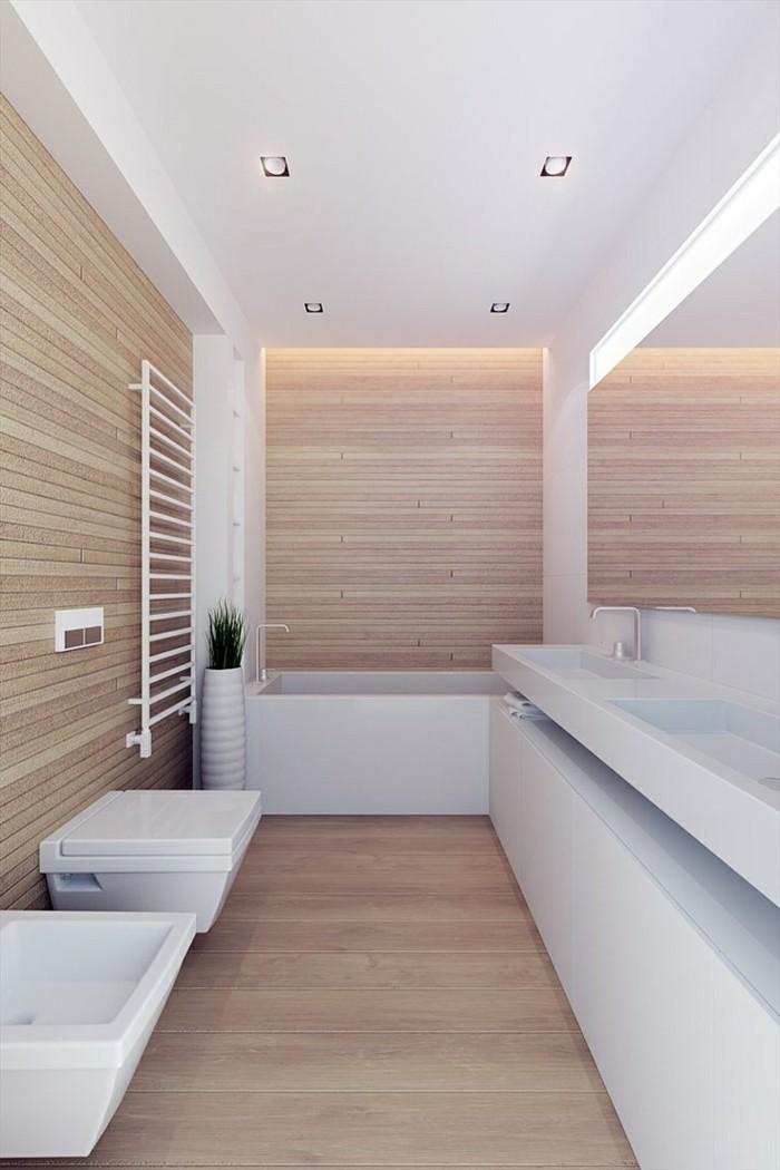 Mille id es d am nagement salle de bain en photos - Meuble salle de bain retro chic ...