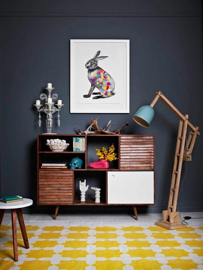 comment-choisir-la-couleur-des-murs-chez-vous-ral-gris-anthracite-2016-tapis-jaune