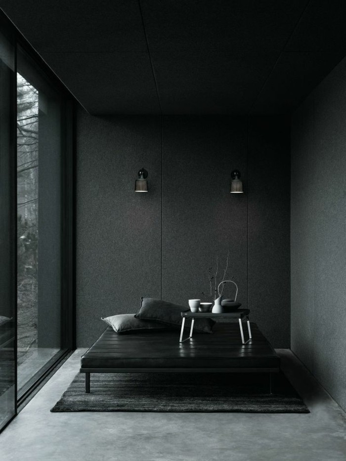 Le gris anthracite en 45 photos d 39 int rieur - Comment raviver les couleurs d un tapis ...