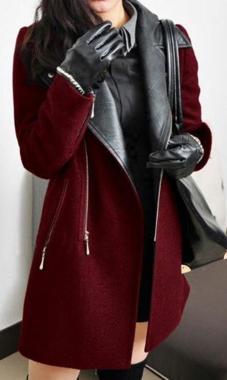 comment-etre-chic-avec-les-gant-femme-pas-cher-cuir-noir-moderne-tendance-2106