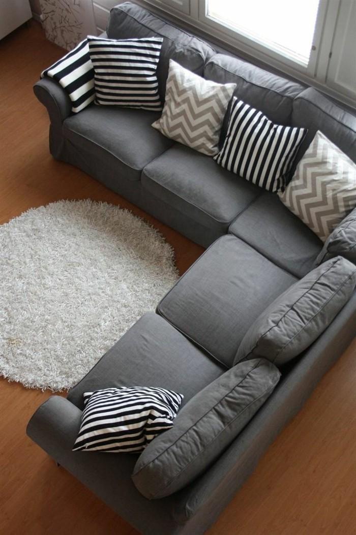 comment-trouver-le-meilleur-interieur-avec-canapé-gris-chiné-canapé-d-angle-gris-salon-chic