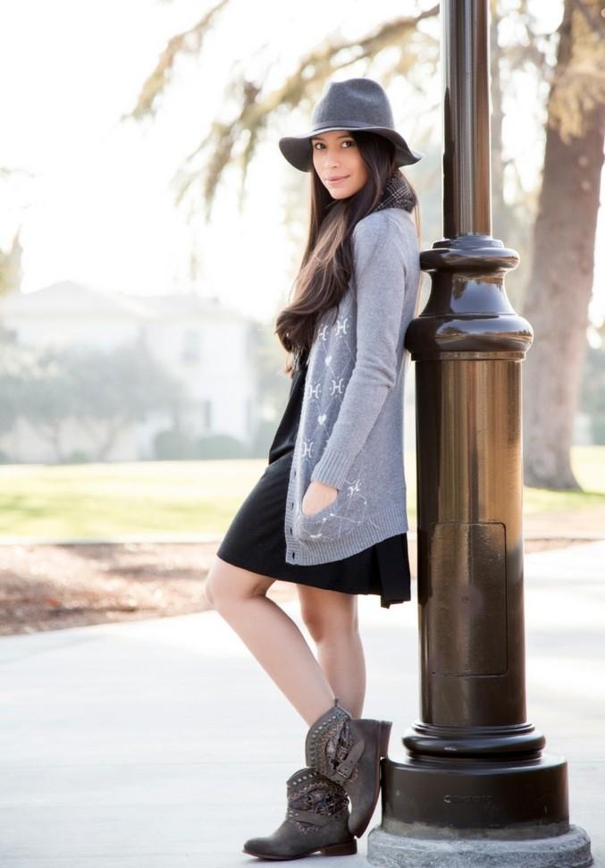 cool-bottines-cuir-femme-bottines-marron-femme-robe