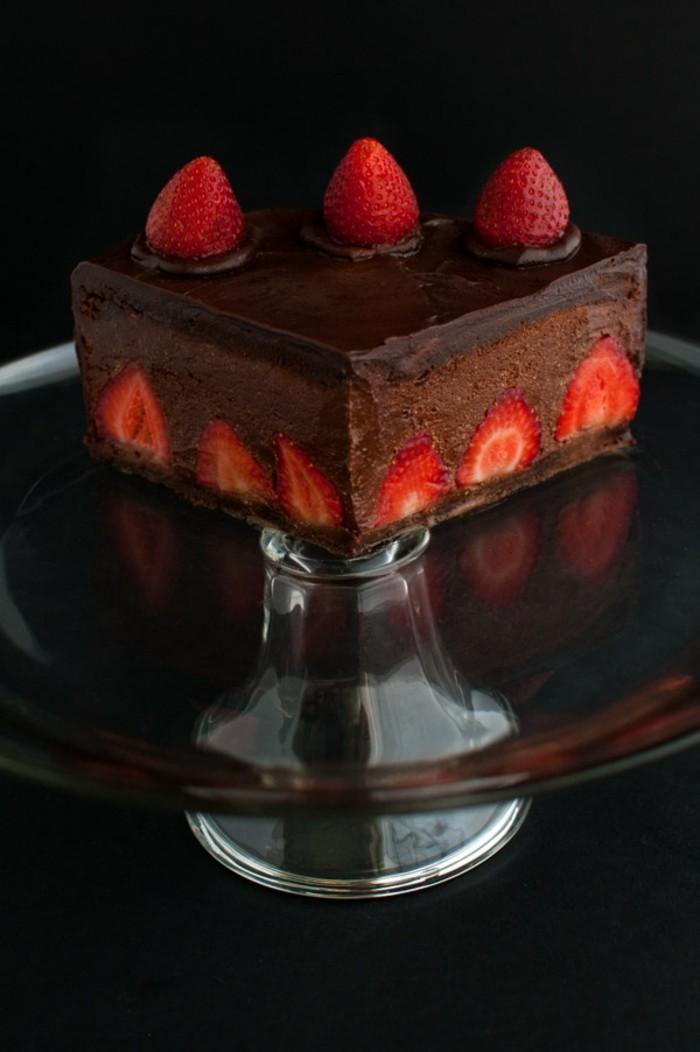 cool-idée-gâteau-au-chocolat-facile-gâteau-fondant-au-chocolat-carre