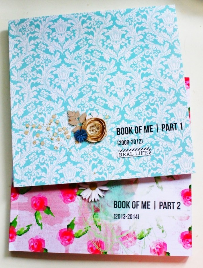 cool-livre-photo-pour-bébéalbum-photo-pour-bébé-idée-originale-bleu-et-rose