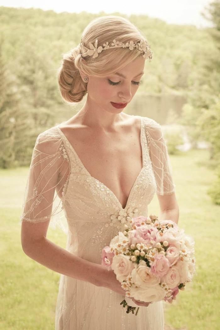 Robe de mariage vintage cool robe de mariage robe de for Robes de mariage vintage