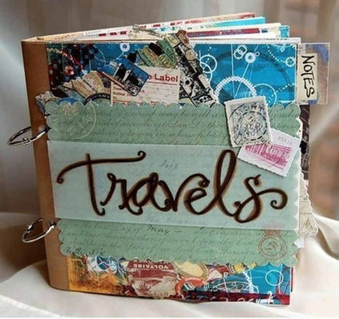 cool-scrapbooking-album-photo--album-photo-adhésif-voyages