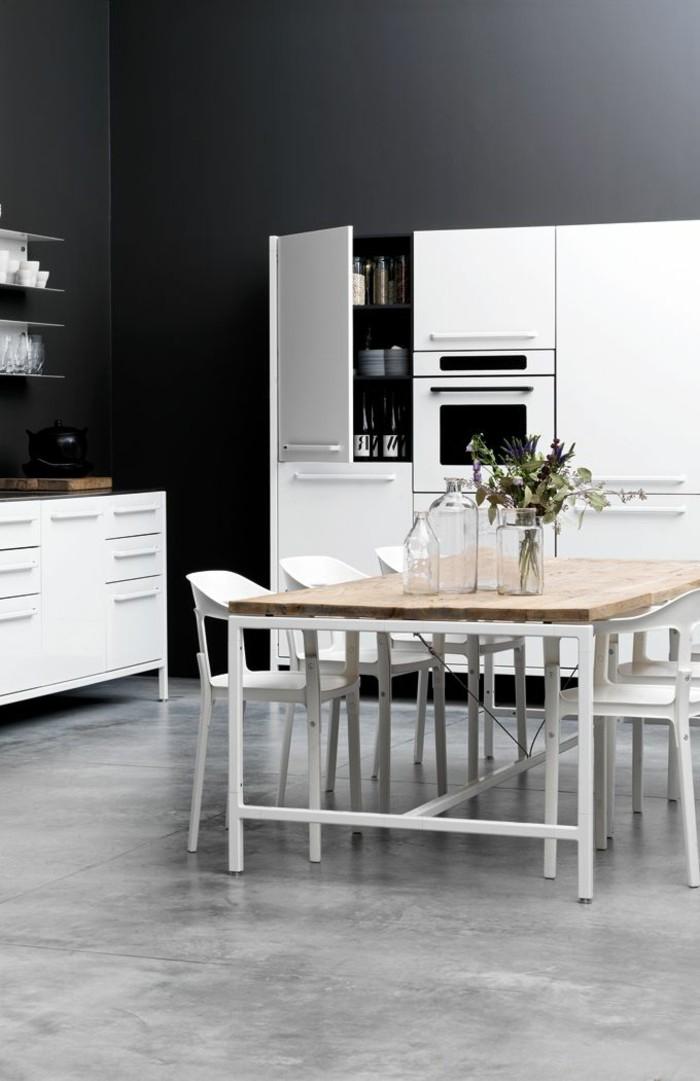cuisie-plan-de-travail-gris-anthrcite-cuisine-grise-sol-gris-meubles-blancs