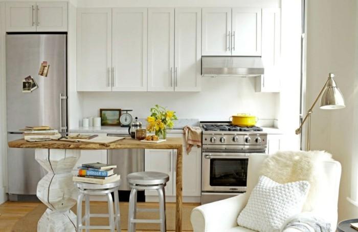 cuisine-studio-amenagement-petite-cuisine-petites-cuisines-cool-aménager-une -petite-cuisine