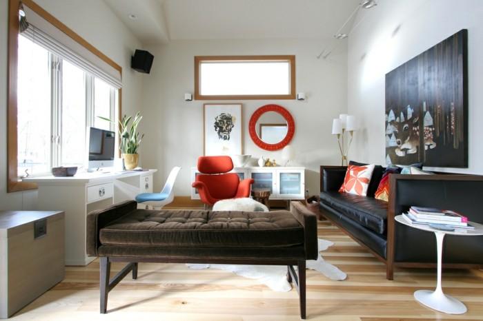 Un canap vintage pour votre salon moderne - Canape interiors occasion ...