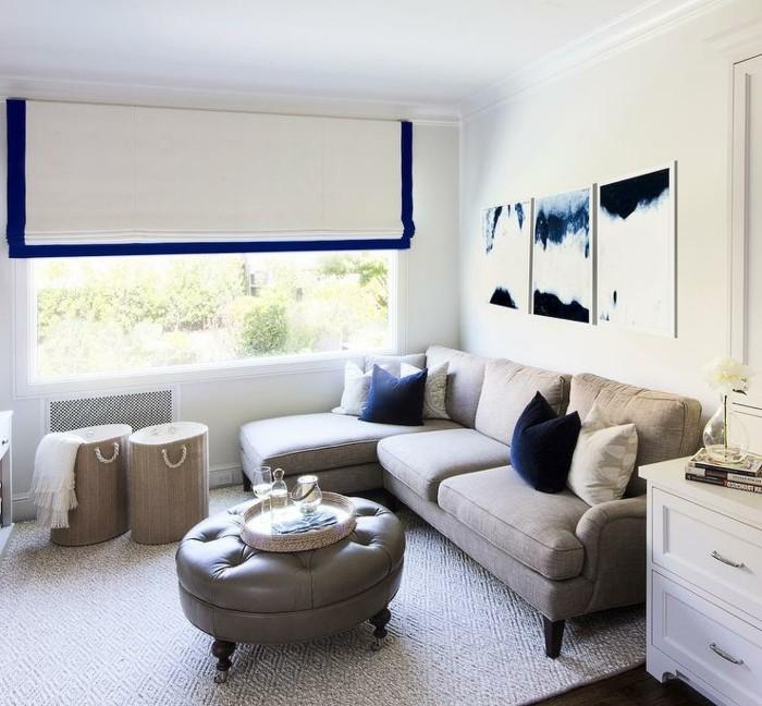 Le canap lin pour un salon styl en 45 images magnifiques for Canape sejour
