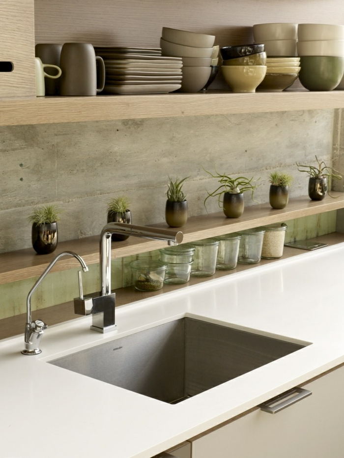 design-évier-castorama-ou-un-évier-franke-meubles-de-cuisine-beiges