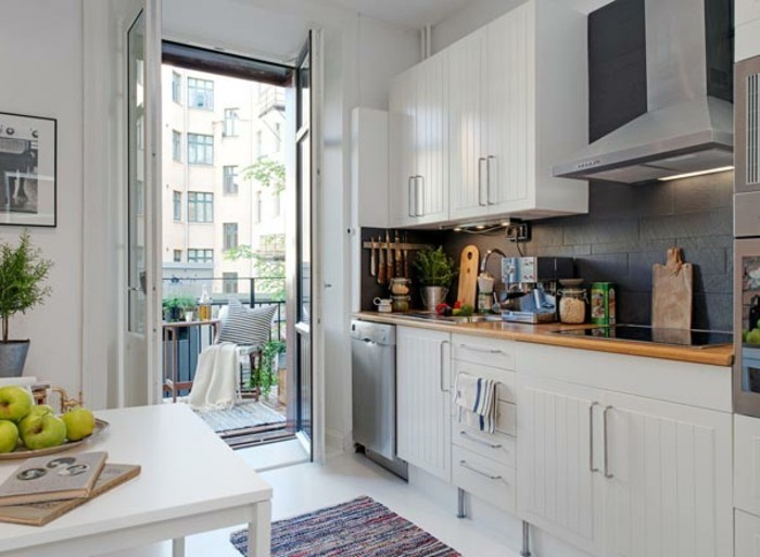 Cuisine appartement cuisine appartements - Amenagement cuisine americaine ...