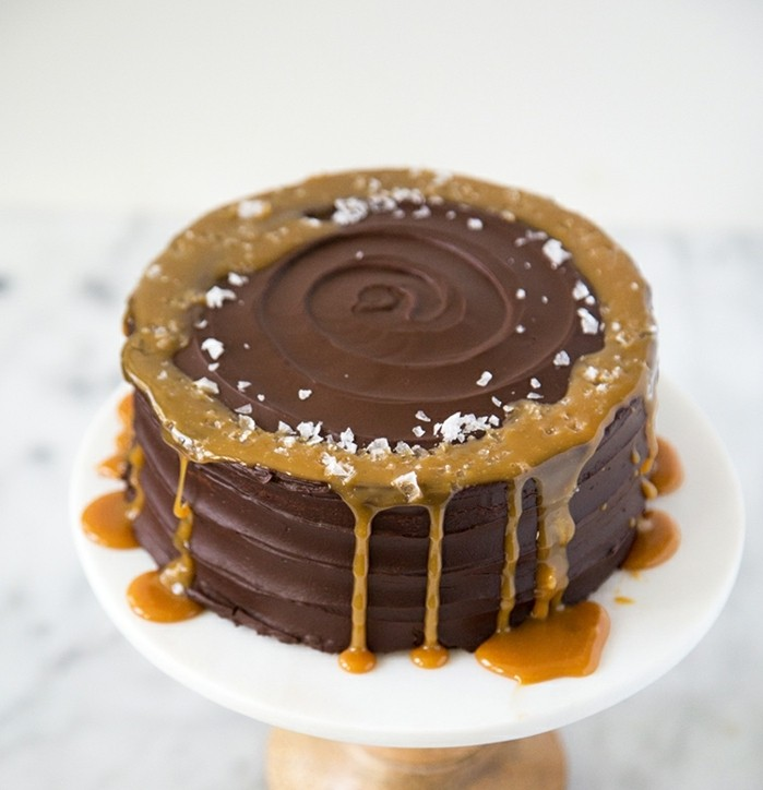 entremet-chocolat-gâteau-chocolat-genoise-chocolat-dessert-parfait-caramel