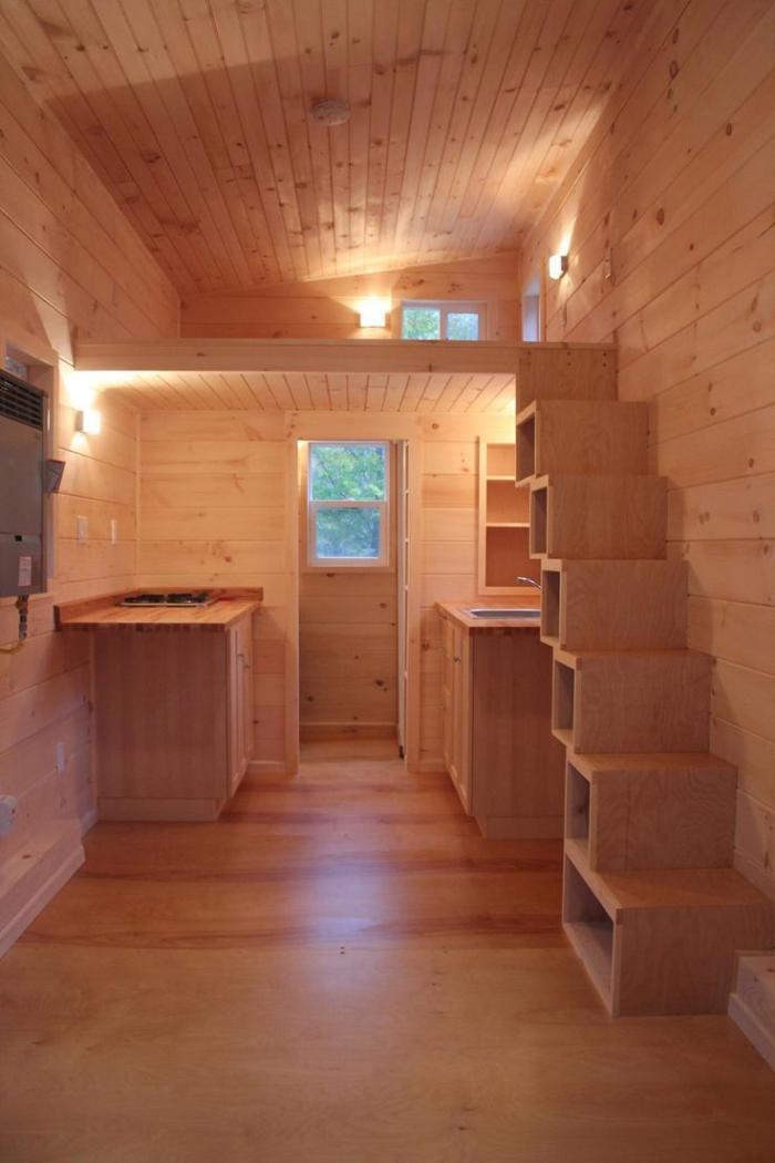 Designs d 39 escalier suspendu le look du loft moderne - Sheds for small spaces property ...