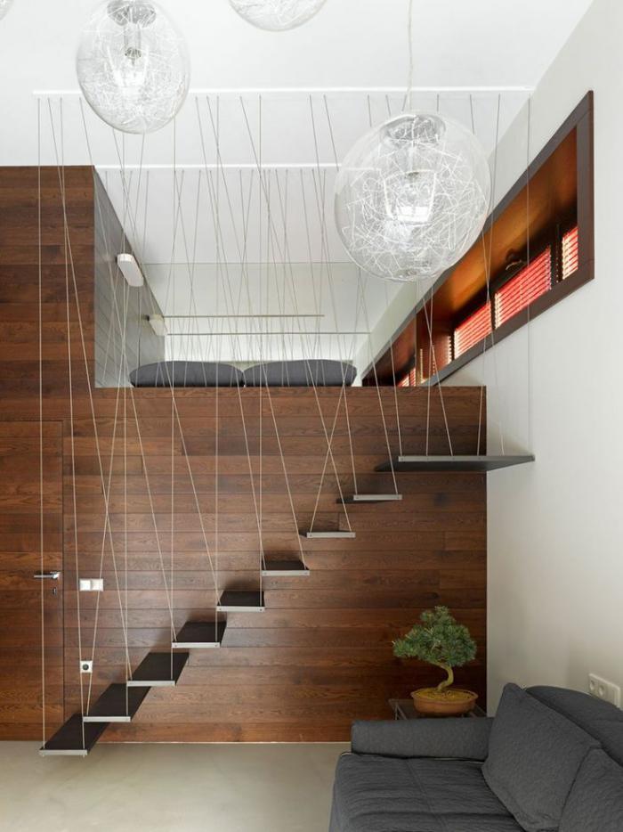 escalier-suspendu-fantastique-salon-avec-mezzanine