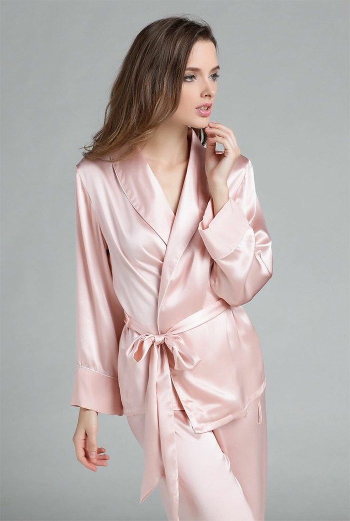 etam-pyjama-pyjama-en-pilou-femme-rose-pyjama-satin-pas-cher-femme