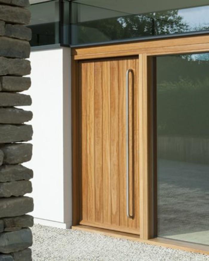 exterieur-moderne-et-chic-porte-en-bois-porte-entree-lapeyre-porte-d-entréе-hormann