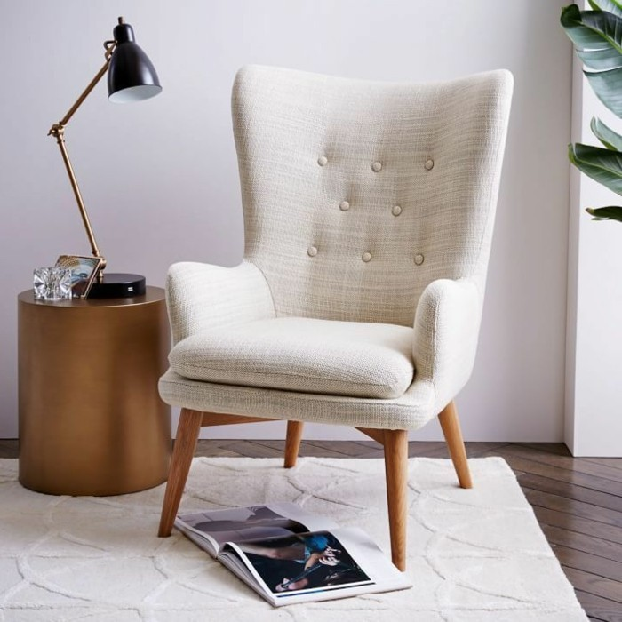 fauteuil-chaise-scandinave-canapés-scandinaves-fauteuil-scandinave-blanc