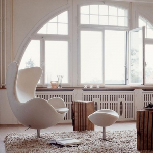 Le fauteuil oeuf - un meuble cocoon indémodable