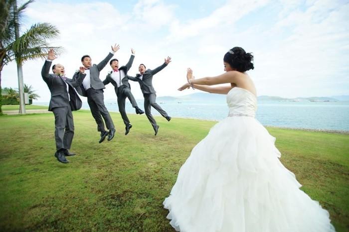 formidable-idée-mariage-original-photo-mariage-original-à-faire-la-mariee-pouvoir-grande-force