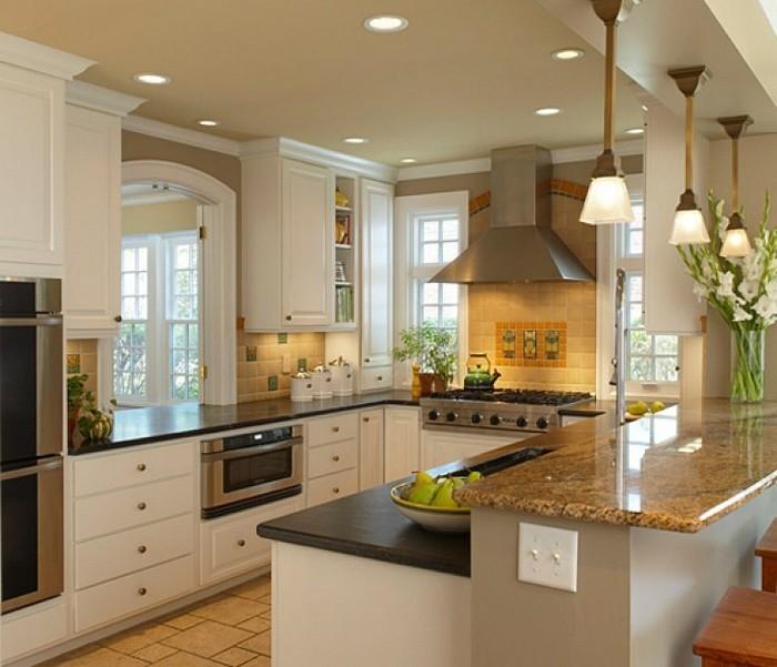 formidable-petite-cuisine-équipée-aménager-une-petite-cuisine-rustique