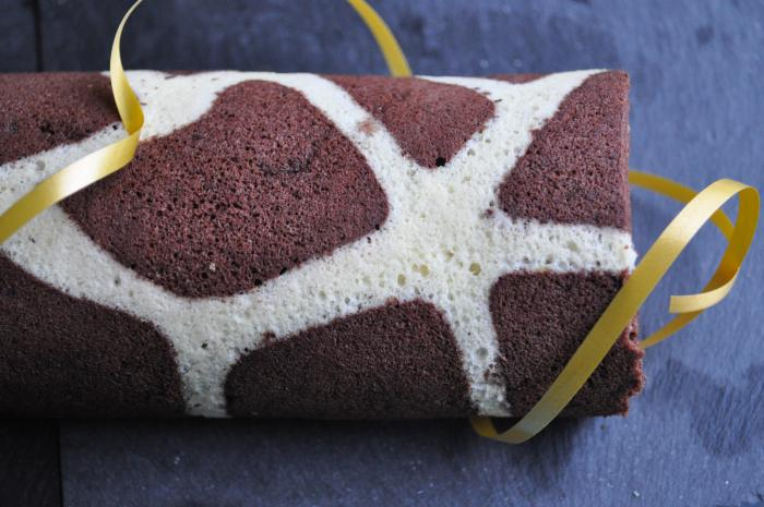 gâteau-roulé-effet-girafe-dessert-créatif