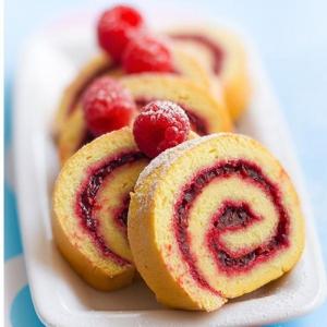 Le gâteau roulé - un souveir d'enfance délicieux