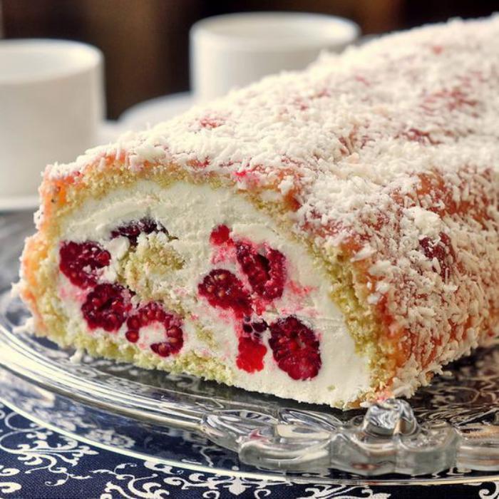 gâteau-roulé-gateau-roulé-aux-framboises-fantastique