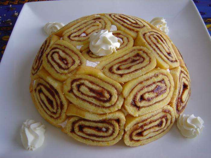 gâteau-roulé-tarte-faite-avec-denoises-roulées