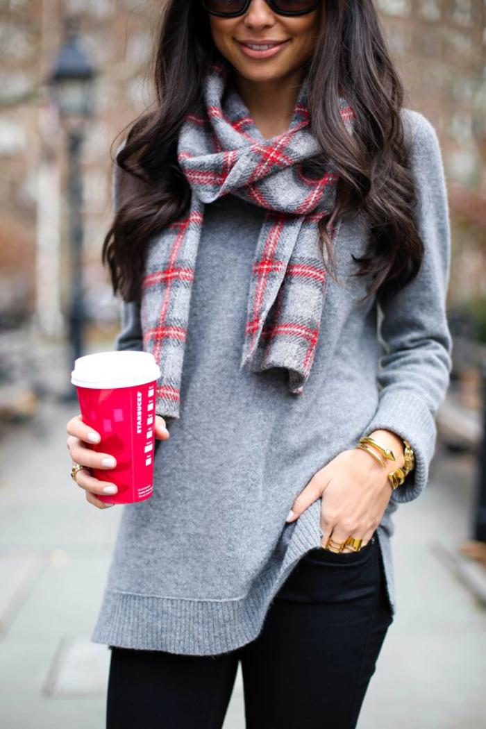 grosse-écharpe-foulard-femme-carreaux-ecossais