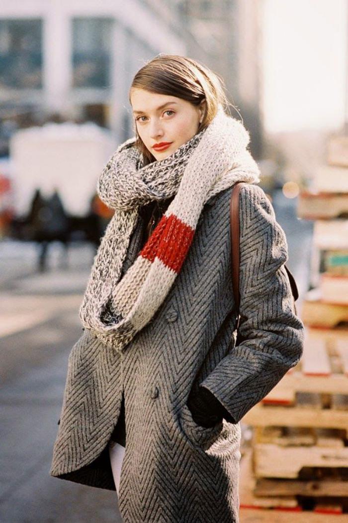 grosse-écharpe-long-foulard-femme-tricoté