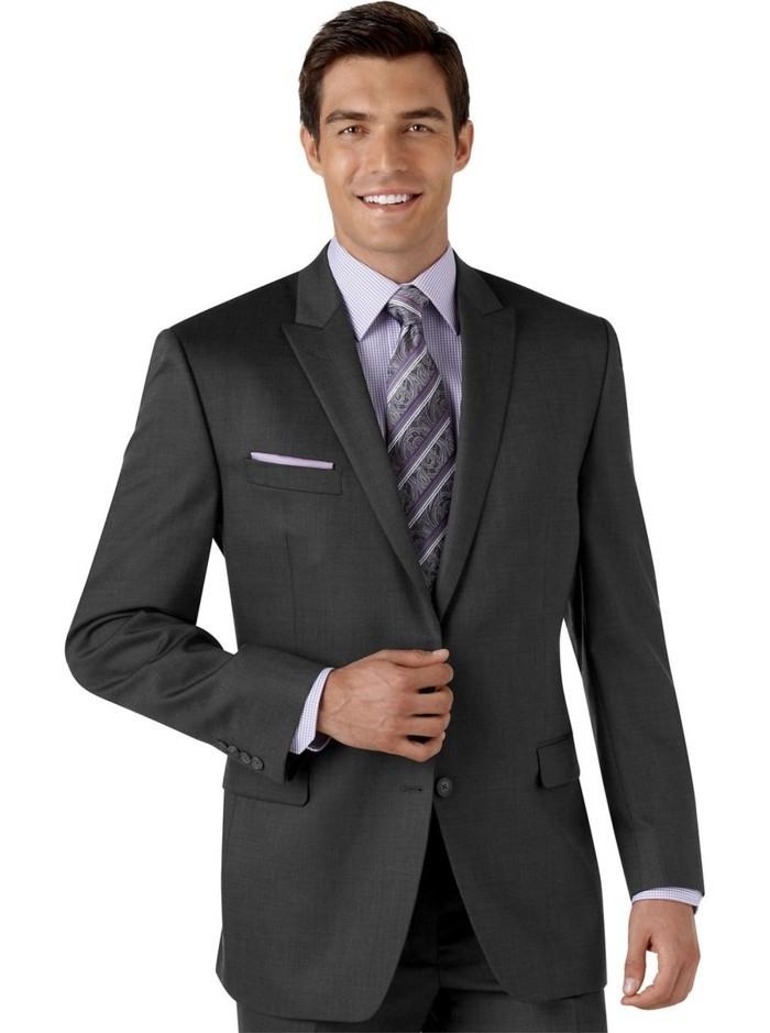 homme-en-costard-homme-pas-cher-costard-cravate-gris-foncé-homme-costume