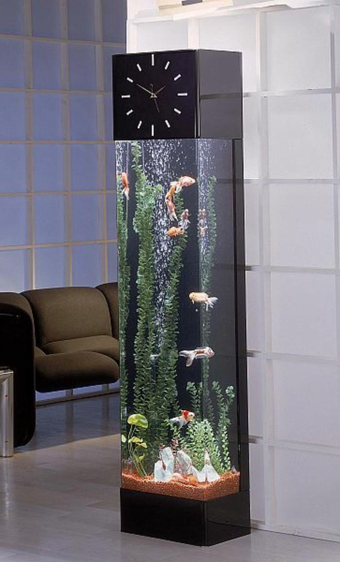 L aquarium mural en 41 images inspirantes - Decoration asiatique dans linterieur moderneidees inspirantes ...