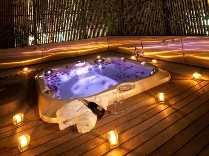 Belle chambre avec jacuzzi privatif  40 idées romantiques!
