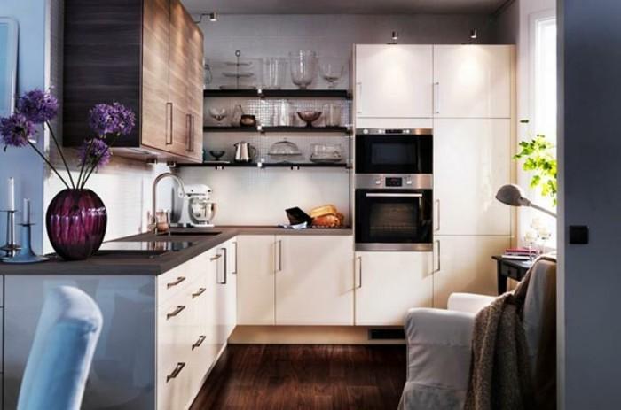 idée-petite-cuisine-aménager-une-petite-cuisine-ouverte-beau-modele-cuisine-ouverte-petite-cuisine-pas-cher
