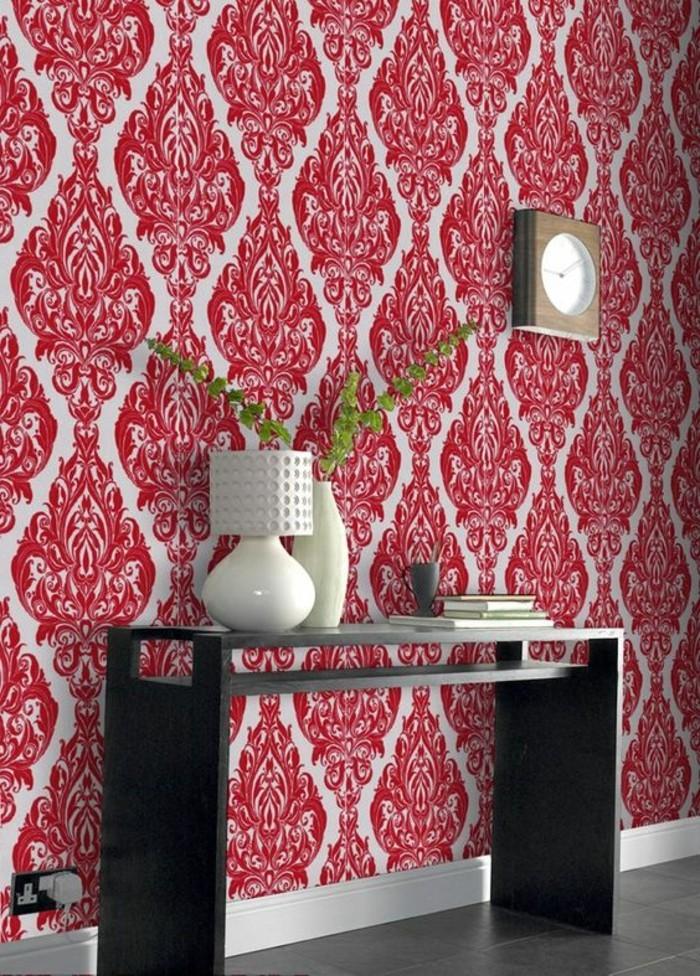 Les papiers peints design en 80 photos magnifiques for Deco couloir chic