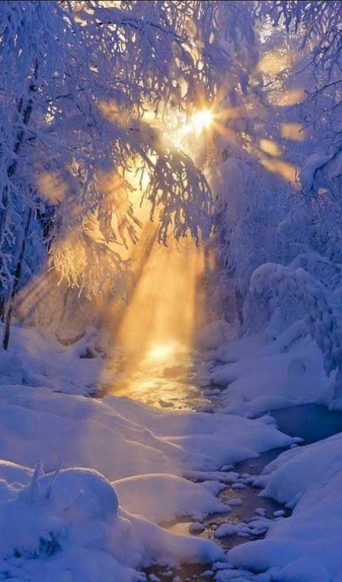 Le paysage d 39 hiver en 80 images magnifiques for Photo d ecran gratuit