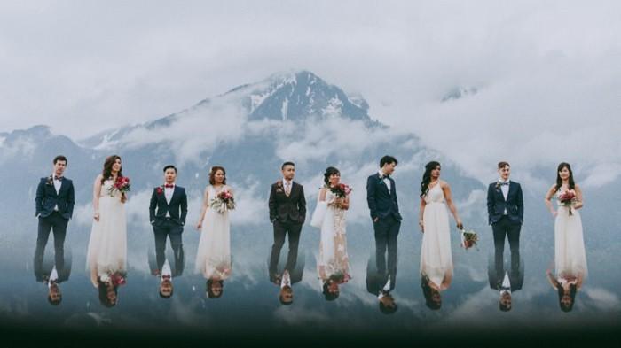 image-mariage-humour-miroir-photo-lac-beauté