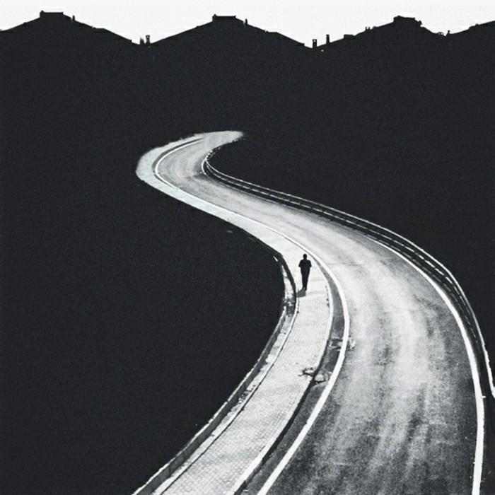 instantané-la-route-photographie-art-beauté-en-noir-et-blanc
