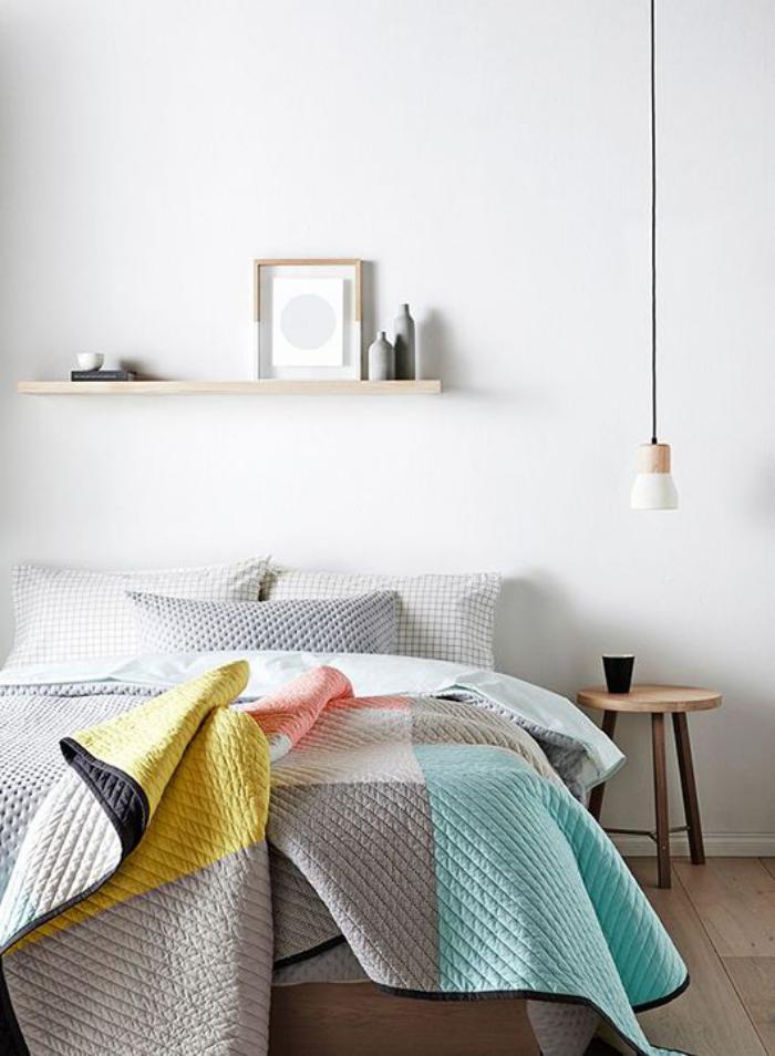 jeté-de-lit-matelassé-habillez-le-lit-en-beau-dessus