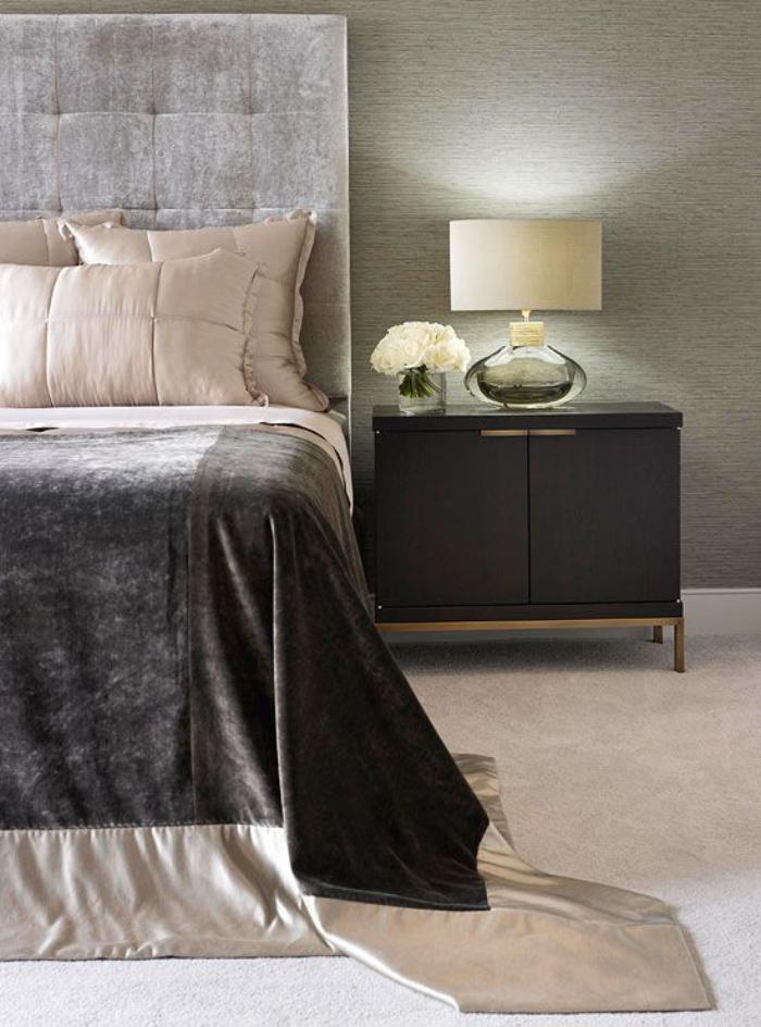jeté-de-lit-peluche-chambre-à-coucher-élégante