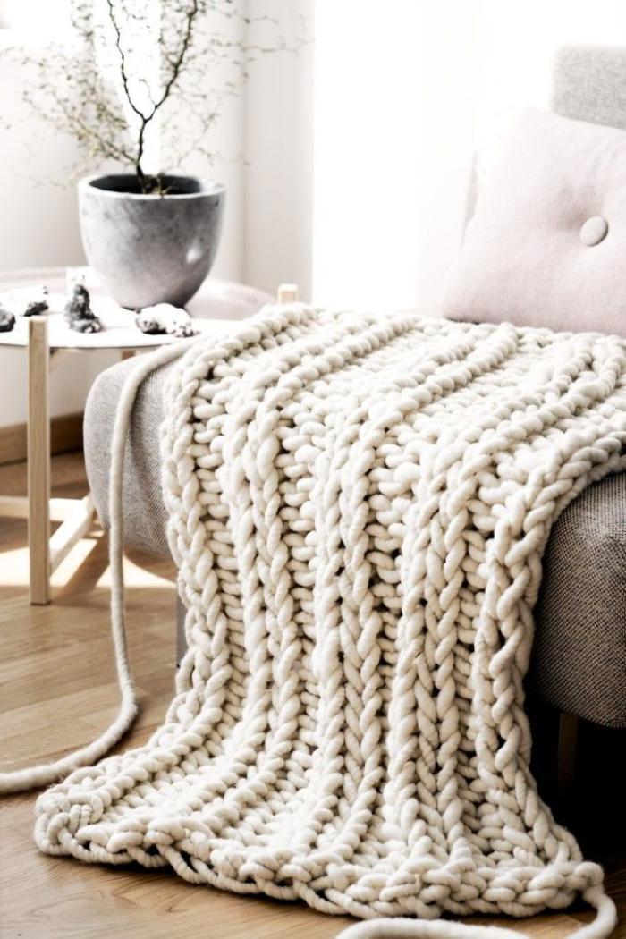 jeté-de-lit-tricot-laine-blanche-jeté-géant-pour-le-lit