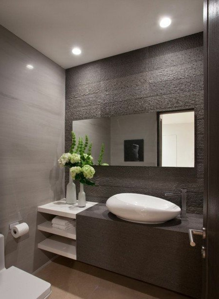 Mille id es d am nagement salle de bain en photos - Idee amenagement salle de bain ...