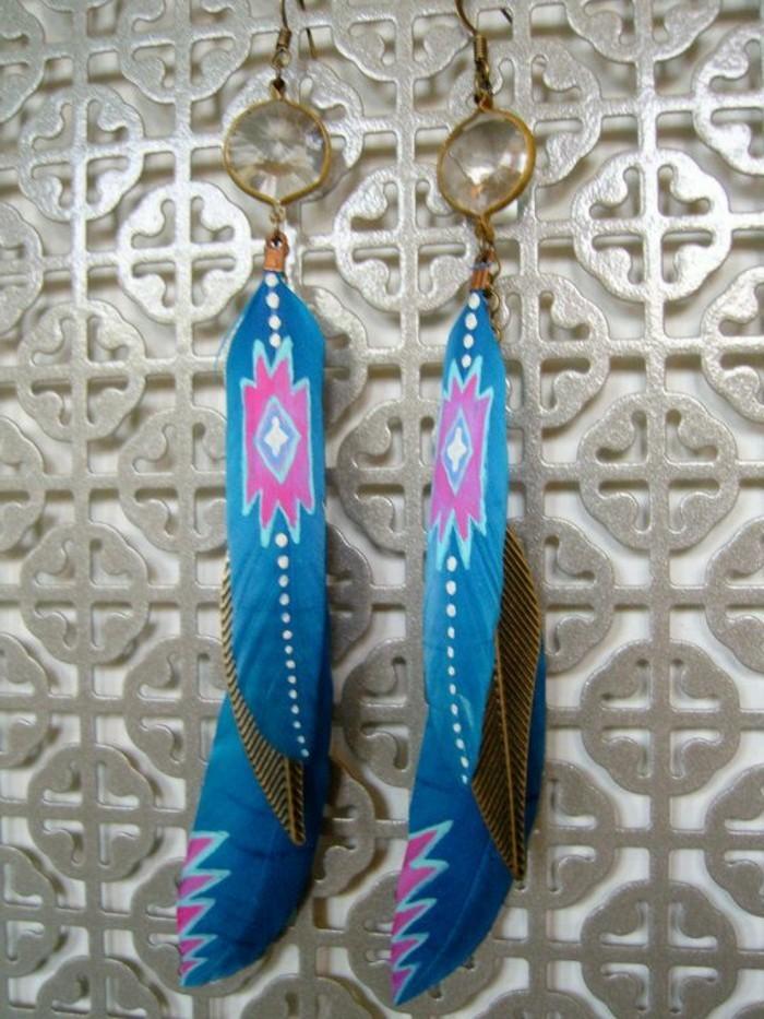 joli-boucle-d-oreille-pendante-plume-de-paon-bleu-decoration-originale-pour-les-boucles