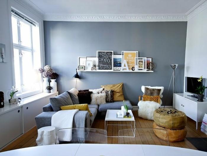 joli-canapé-gris-pour-le-salon-moderne-et-chic-comment-bien-amenager-le-salon-moderne