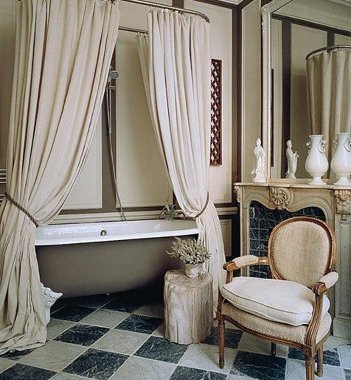 jolie-baignoire-beige-baignoire-salle-de-bain-retro-de-couleur-taupe-baignoire-ilot-retro