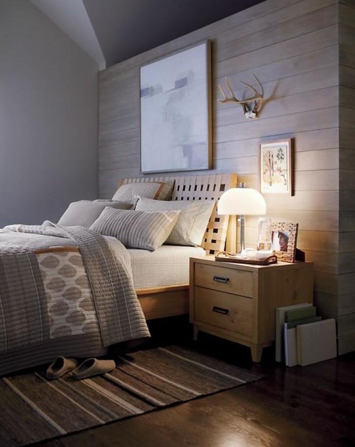 jolie-chambre-a-coucher-avec-quelle-couleur-associer-le-gris-sol-en-parquet-foncé